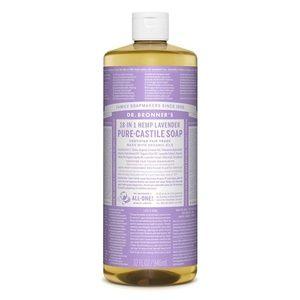 Dr. Bronner's 18-In-1 Lavender Pure-Castile Soap
